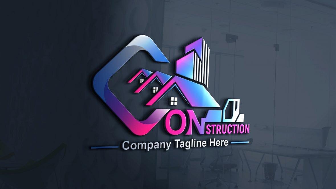 Construction Company, Contractor, Handyman Logo Design