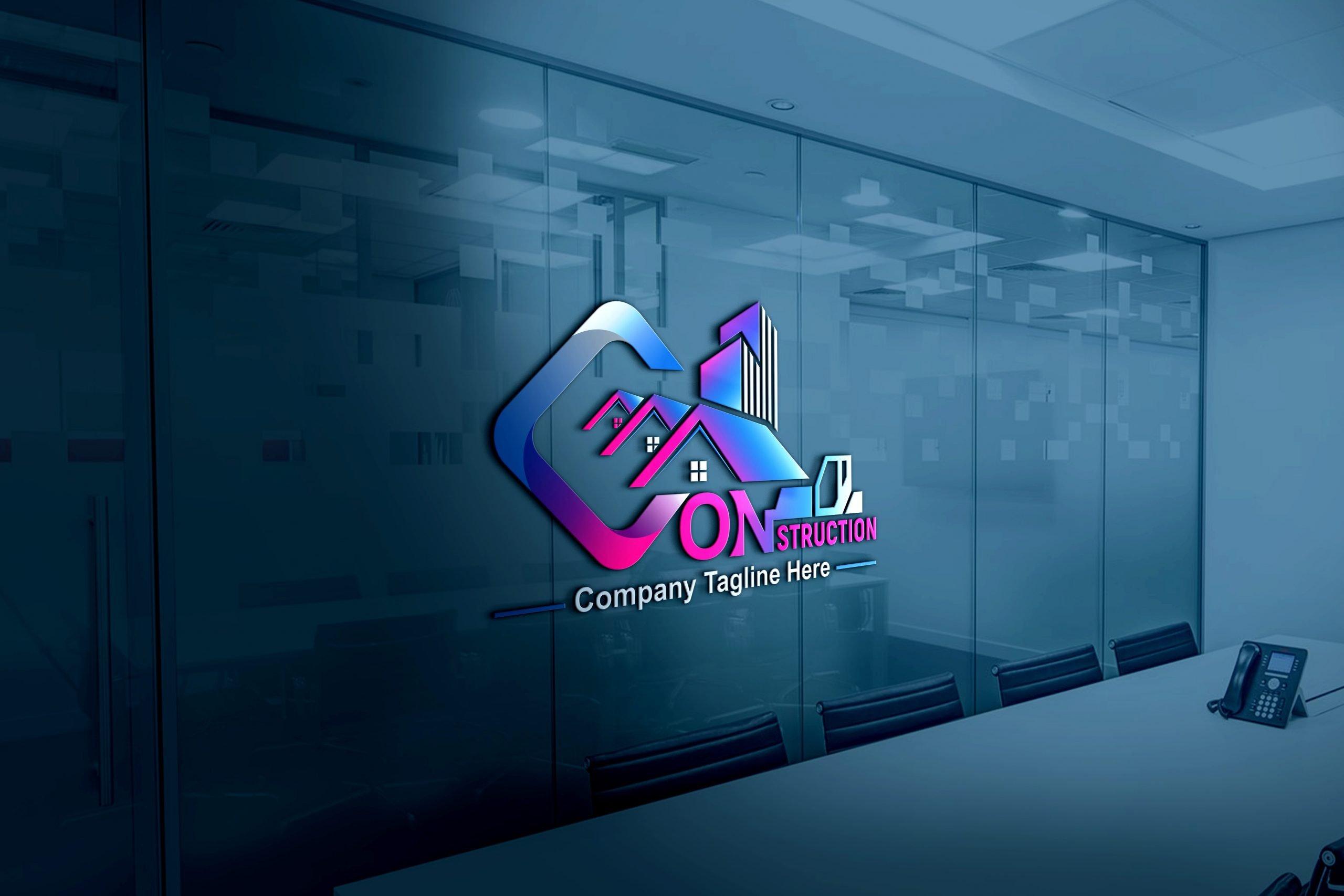 Construction Company, Contractor, Handyman Logo Design Download