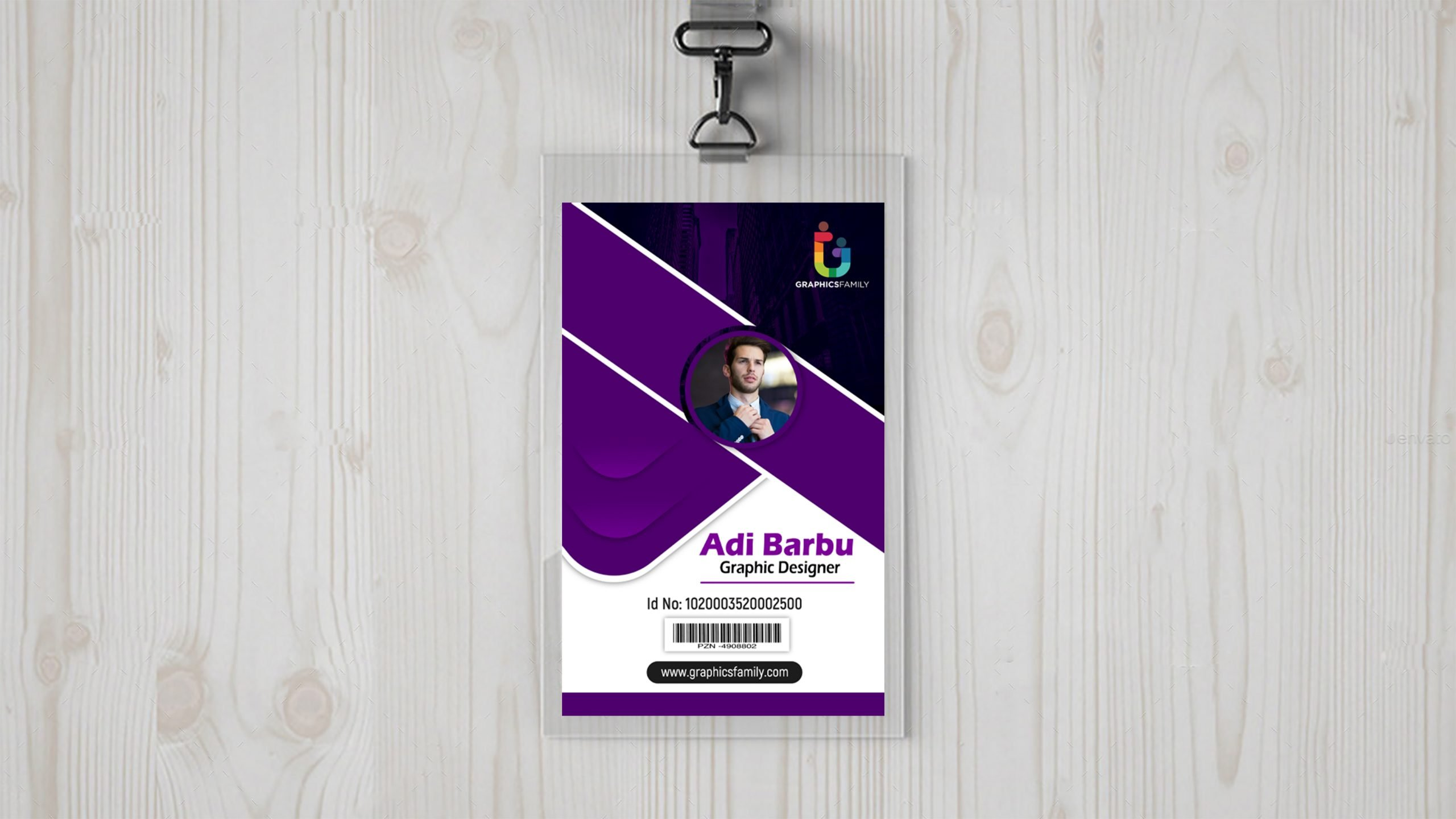 Corporate Employee Id Card Download