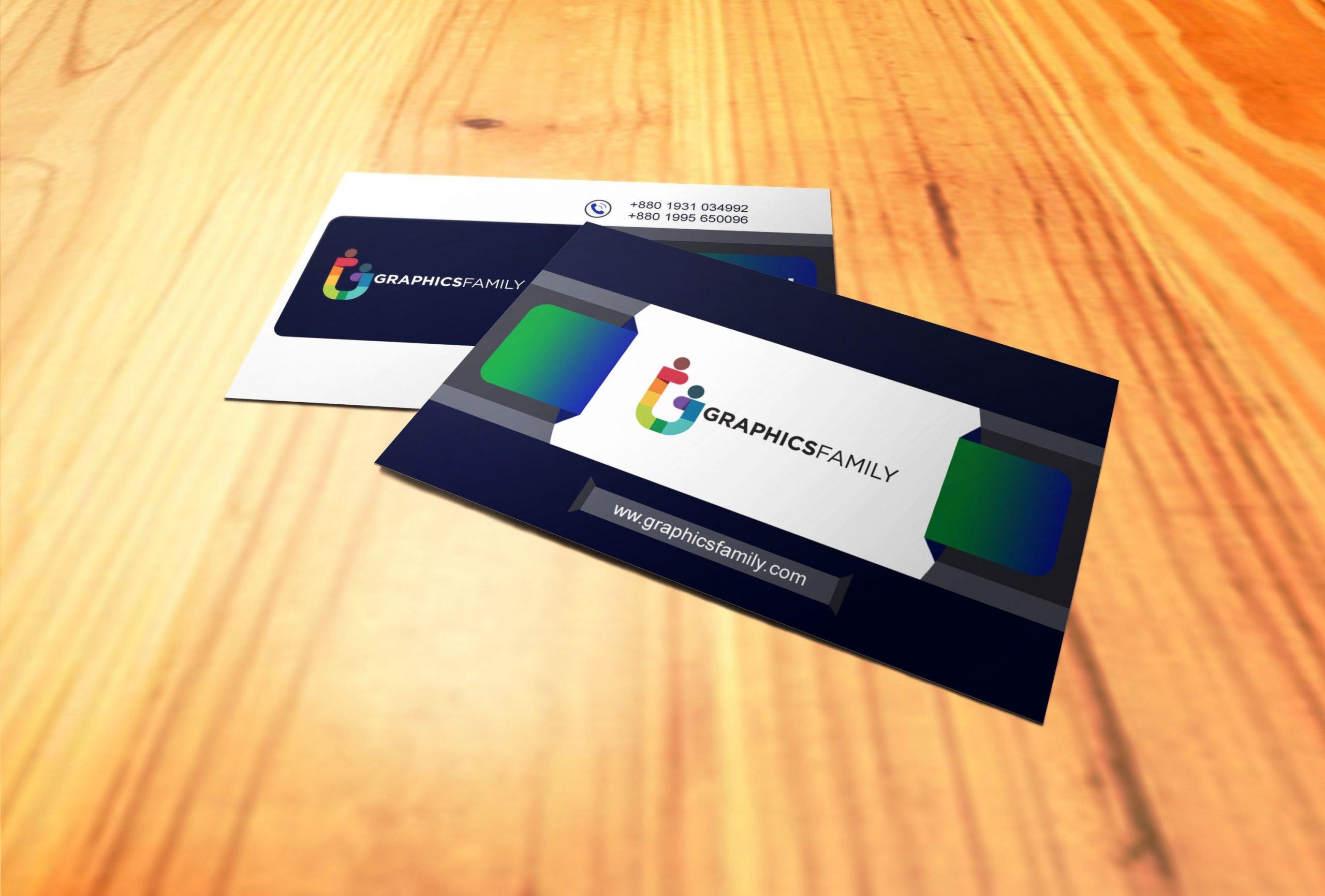 Download Traders visiting card design