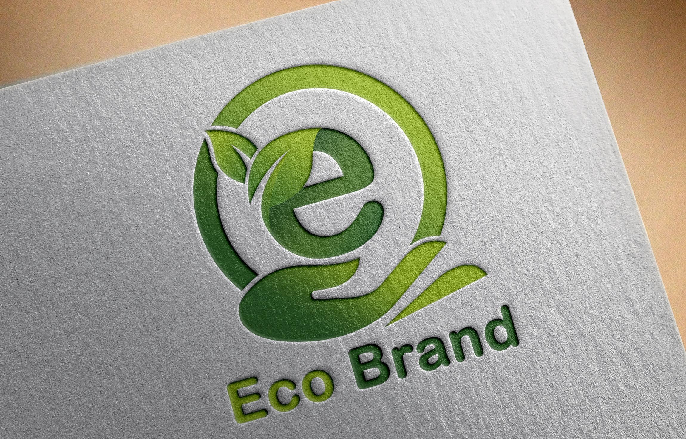 Eco Brand Logo Design Tutorial