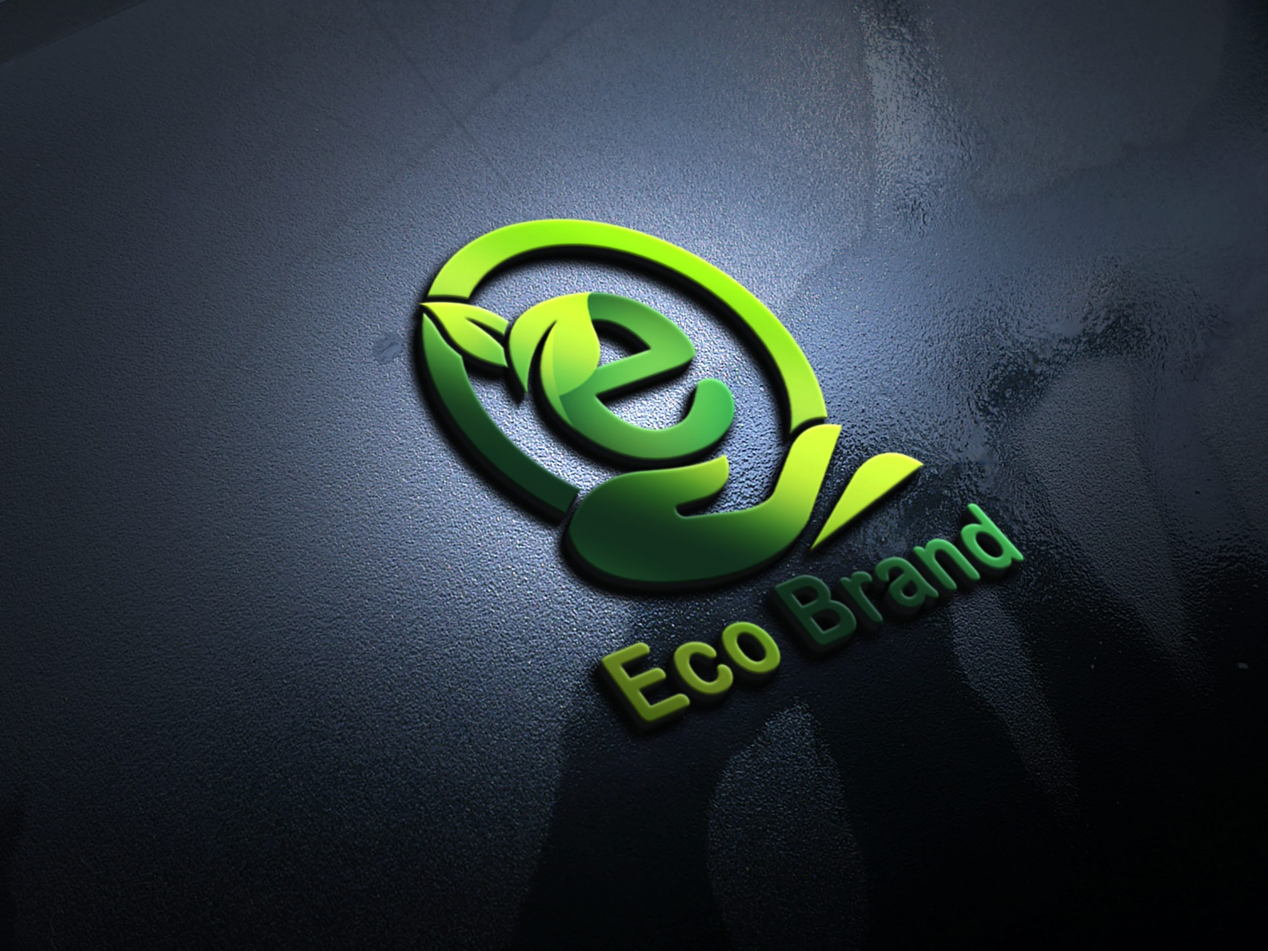 Eco Brand Logo Design by GraphicsFamily