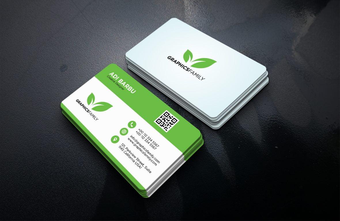 Eco-Friendly Business Card Design