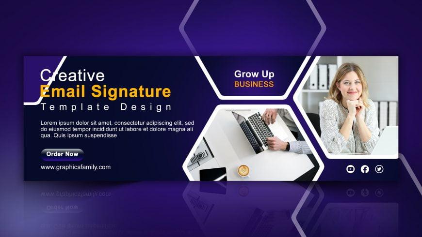 Editable Business Email Signature Design