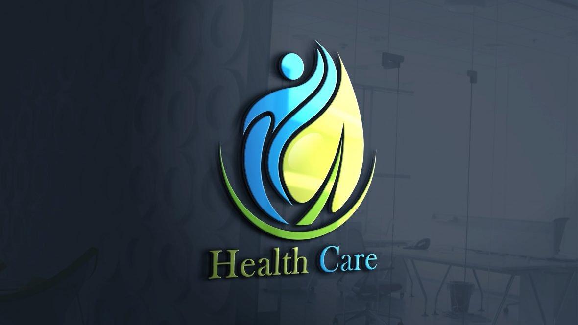 Editable Health Logo Design Template