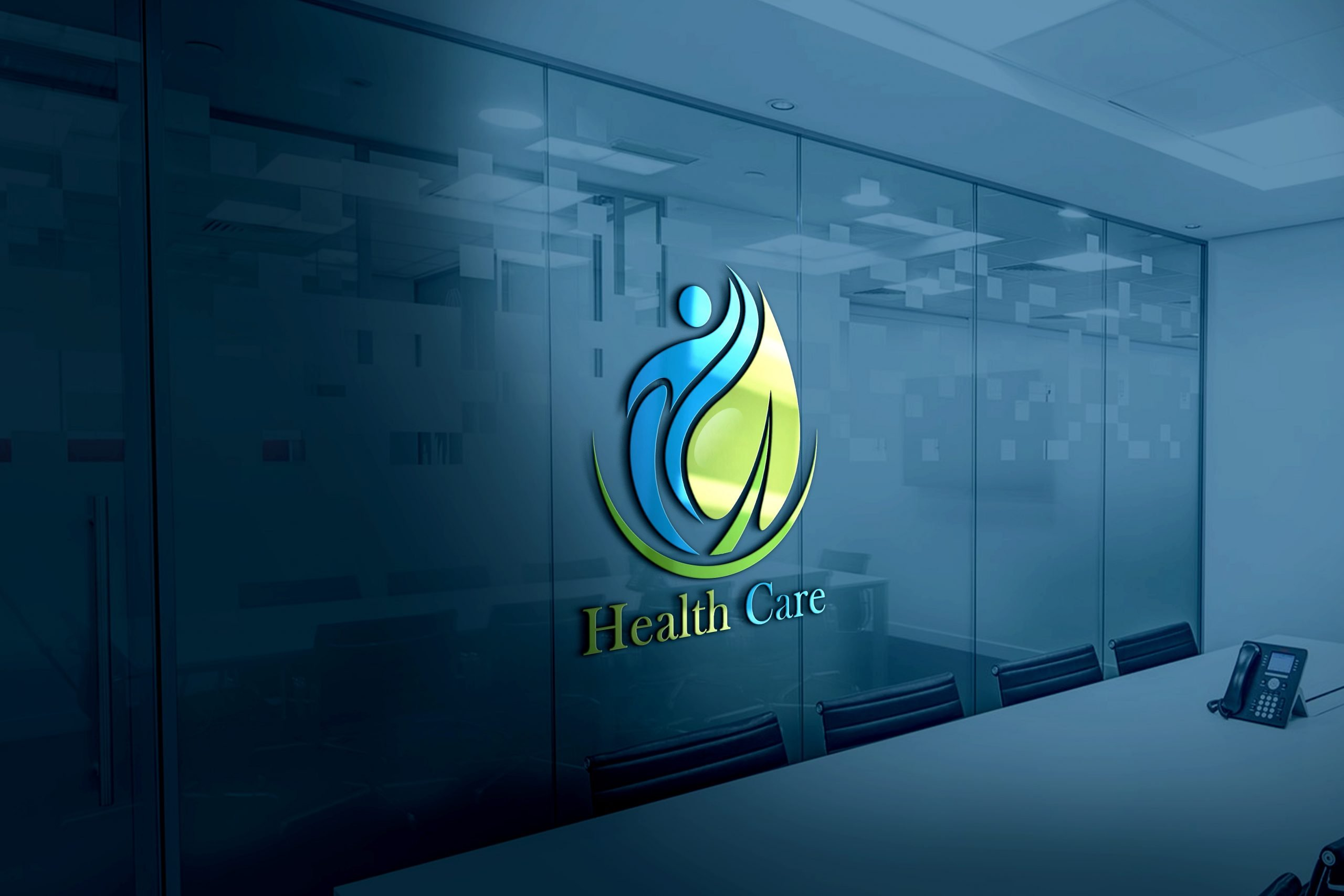 Editable Health Logo Design Template Download
