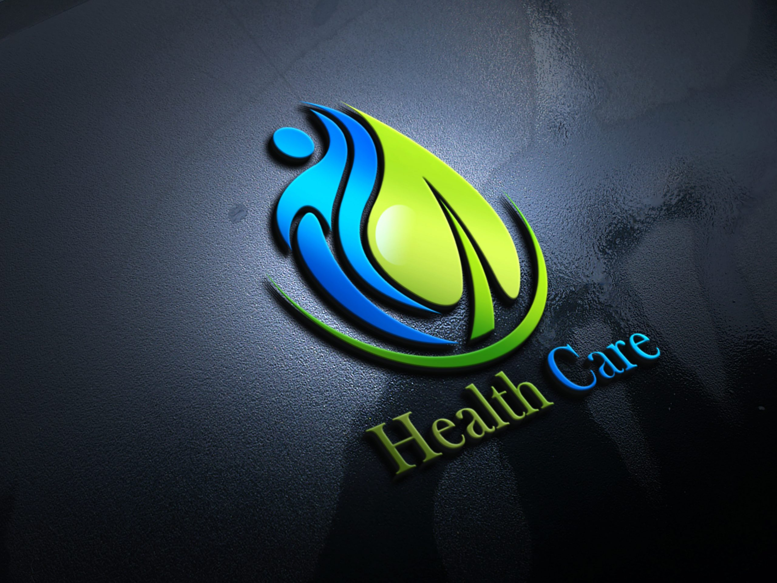 Editable Health Logo Design Template Source