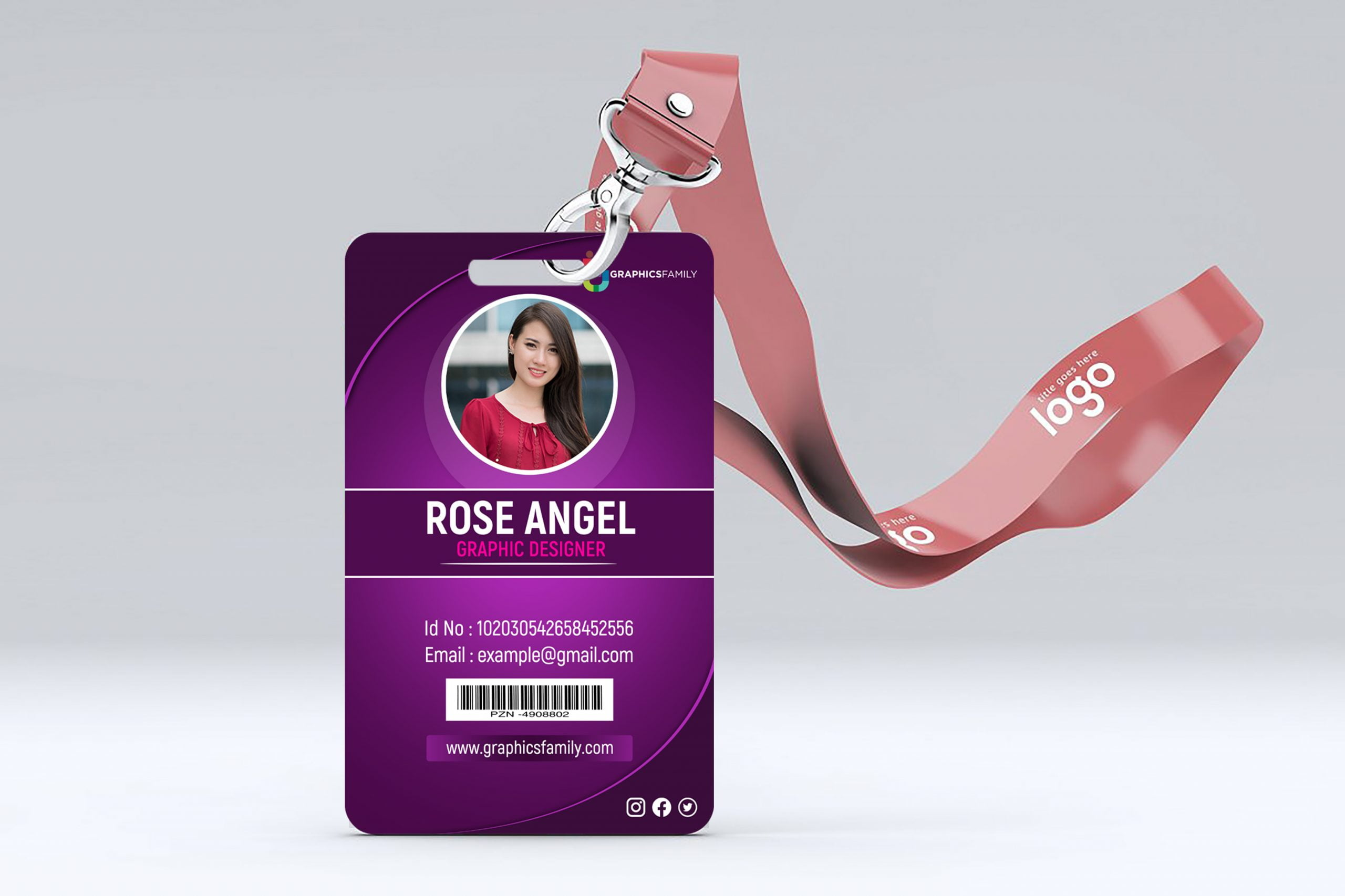 Employee Id Card Design Download