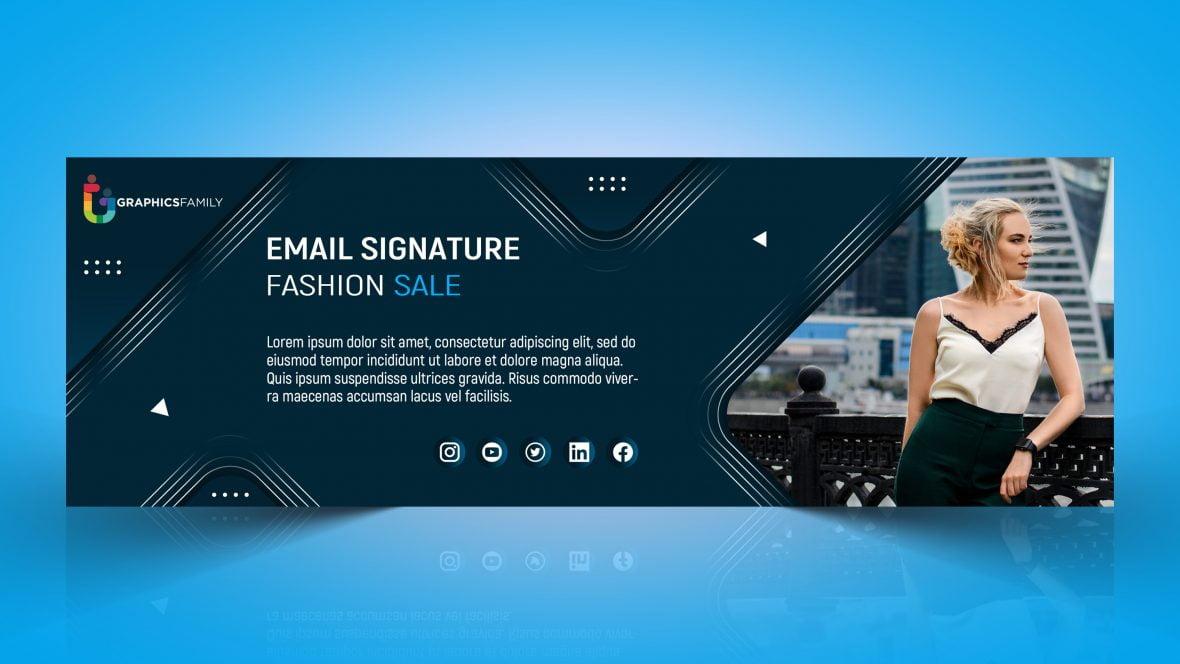 Fashion Email Signature Design