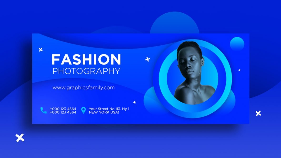 Fashion Photography Banner Template Design