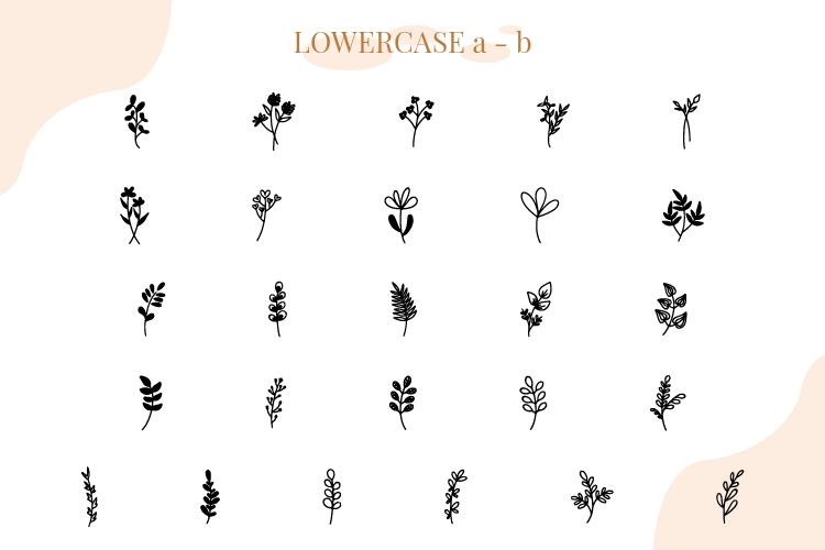 Floralia-Floral Dingbat Font Download