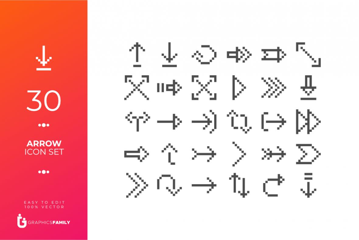 Free Arrow Icons Set