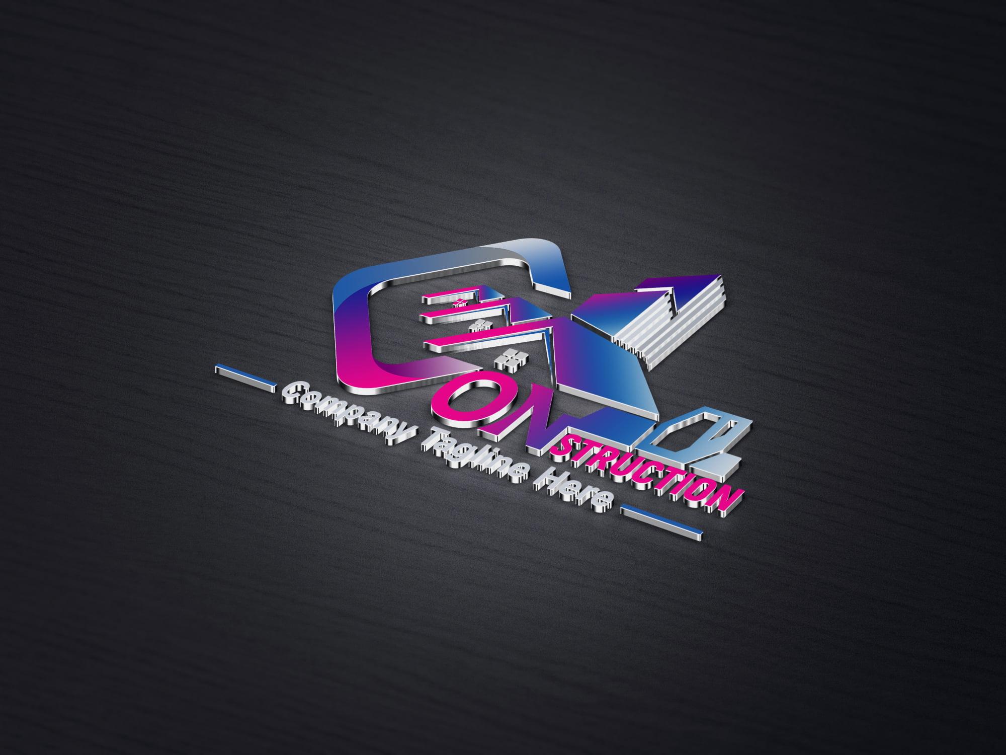 Free Construction Company, Contractor, Handyman Logo Design