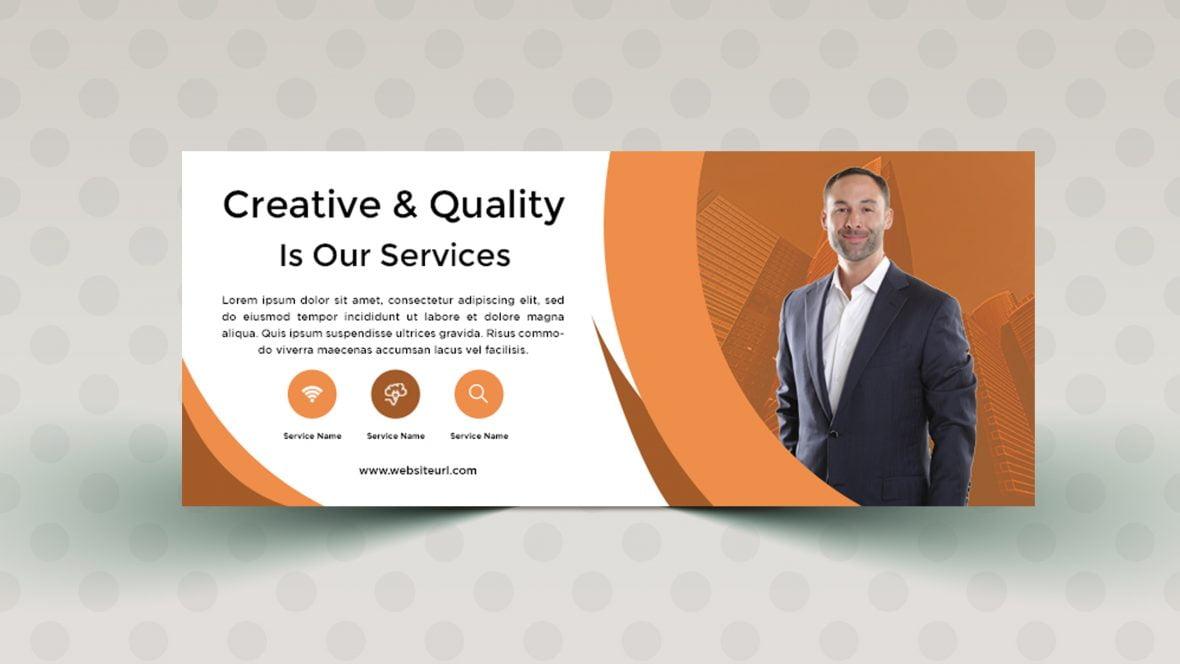 Free Creative Simple Banner Design Template