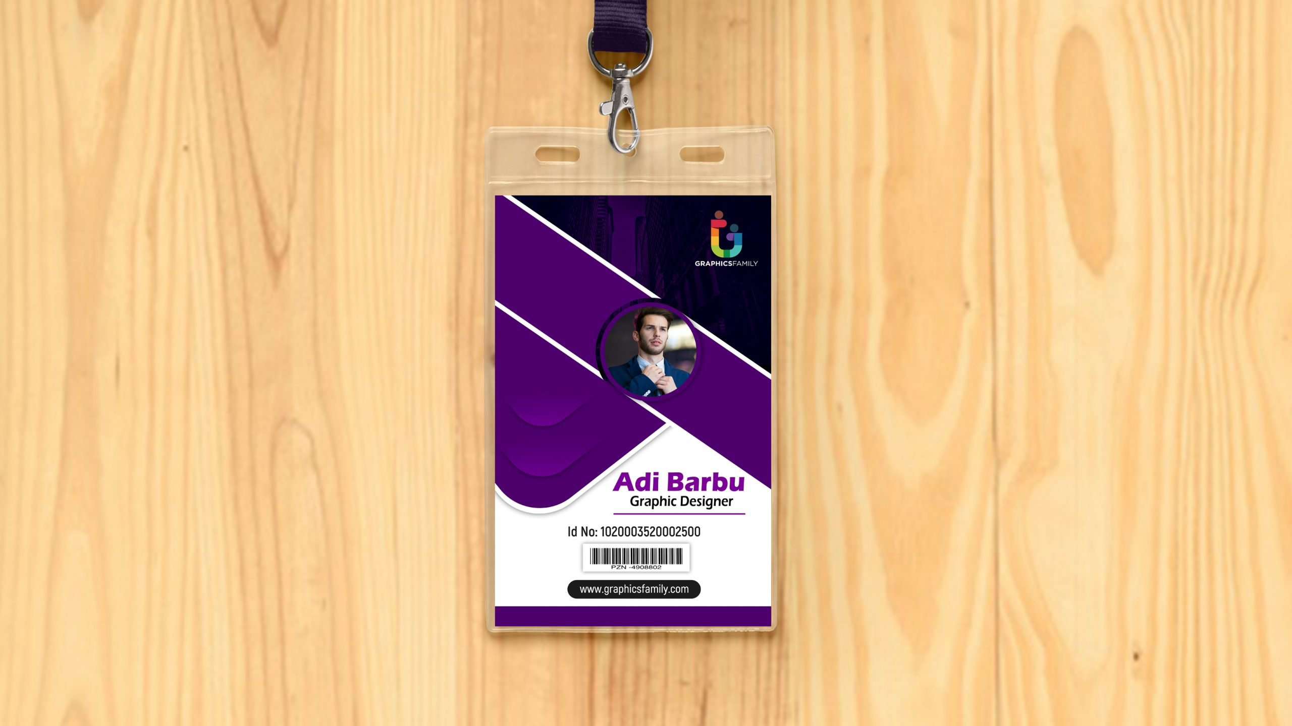 Free Download Corporate Employee Id Card