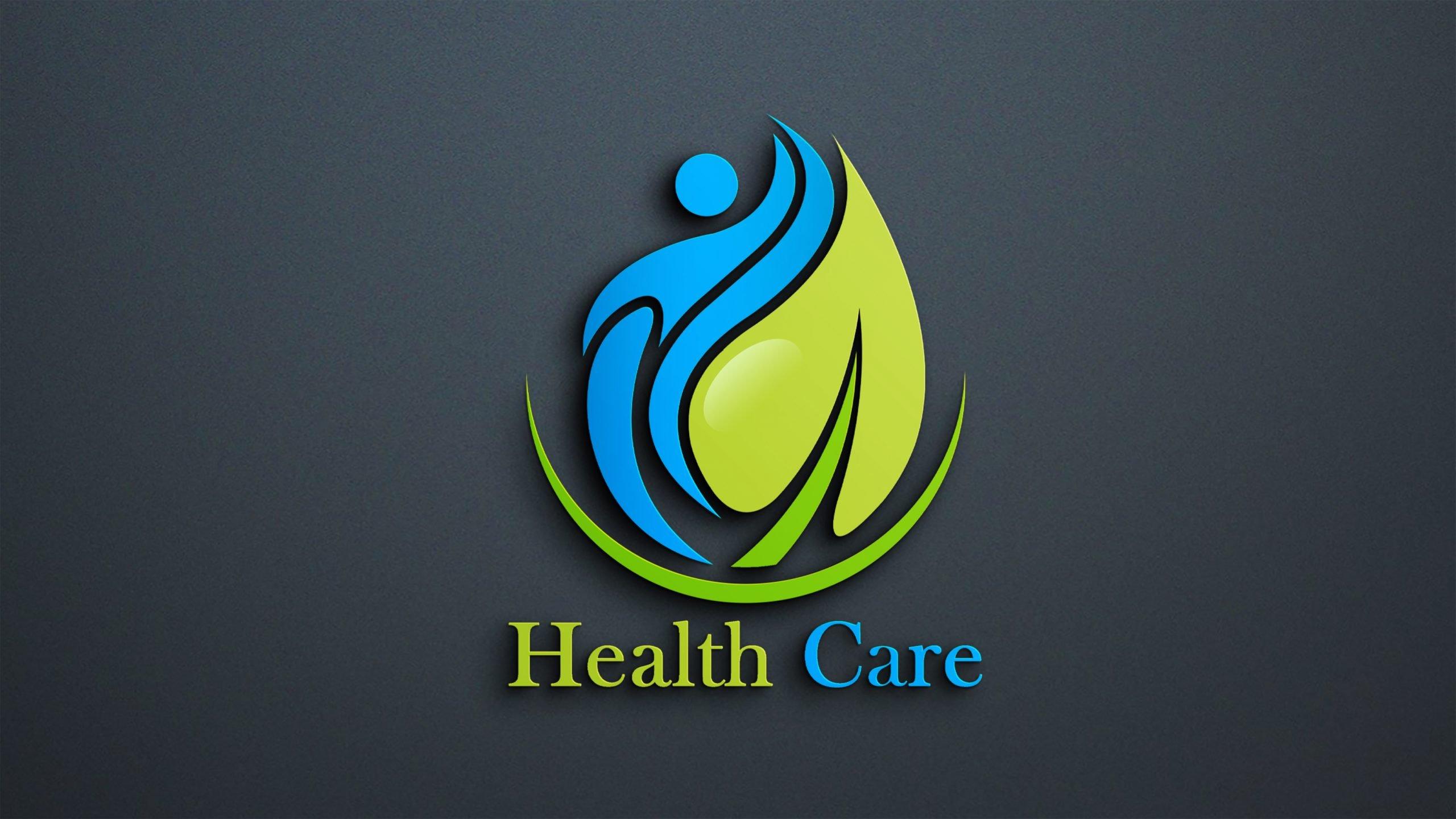 Free Download Editable Health Logo Design Template