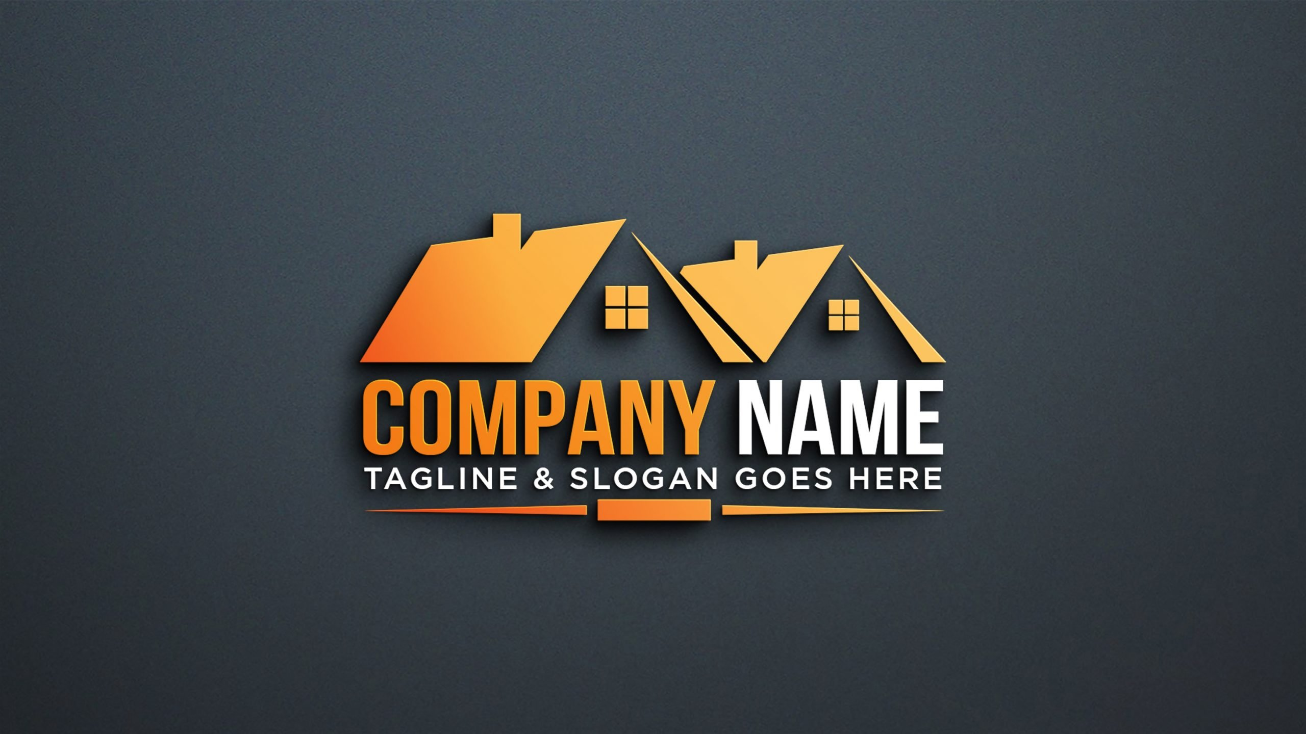 Professional Construction Logo Design by GraphicsFamily
