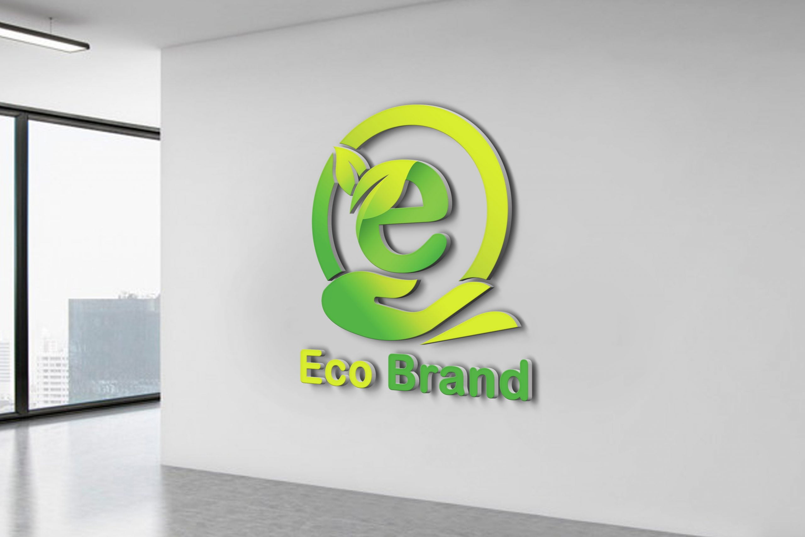 Free Eco Brand Logo Design
