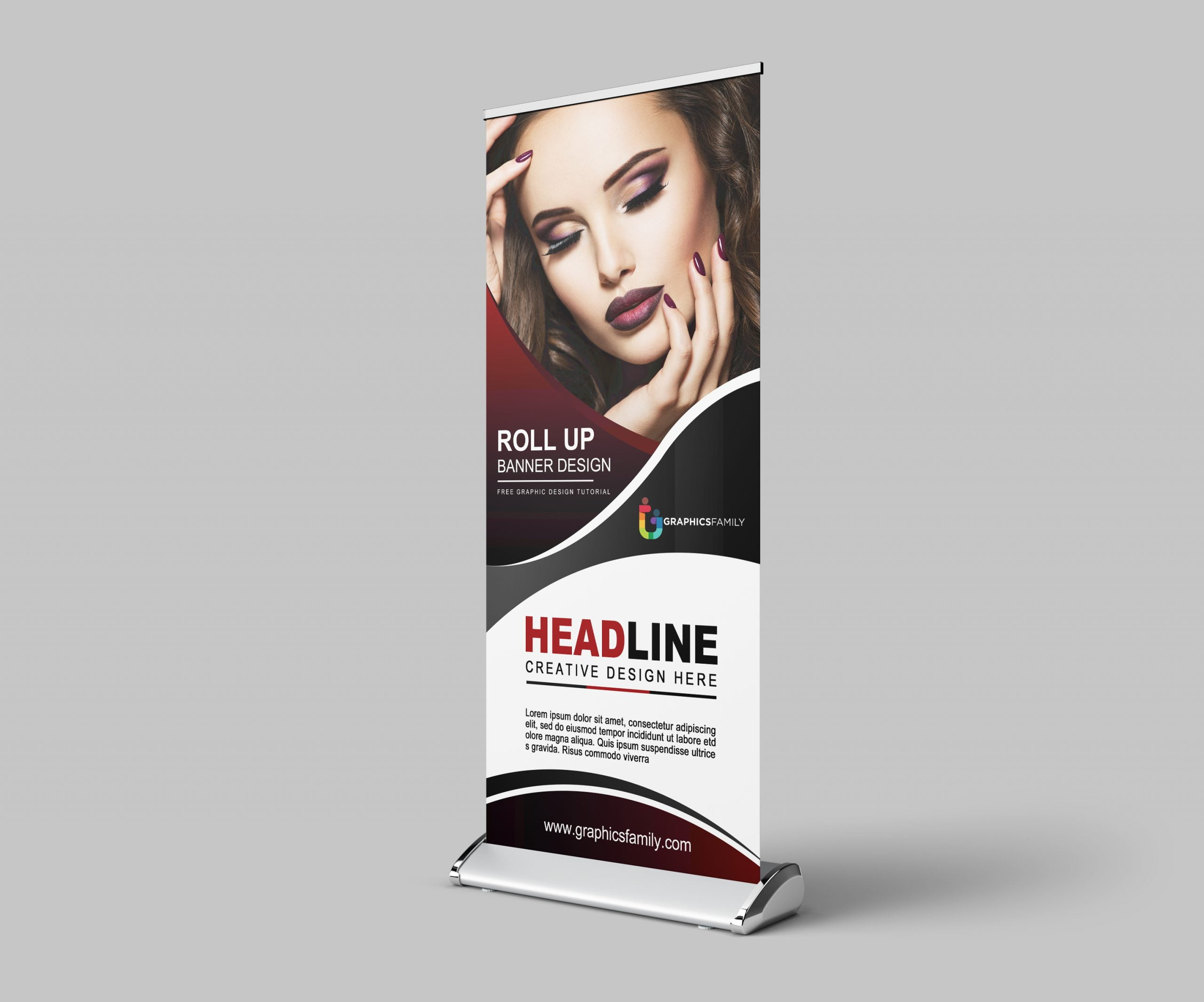 Free-Fashion-Show-Roll-Up-Banner-Design