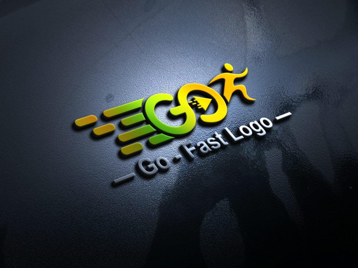 Free Go Logo Design Template
