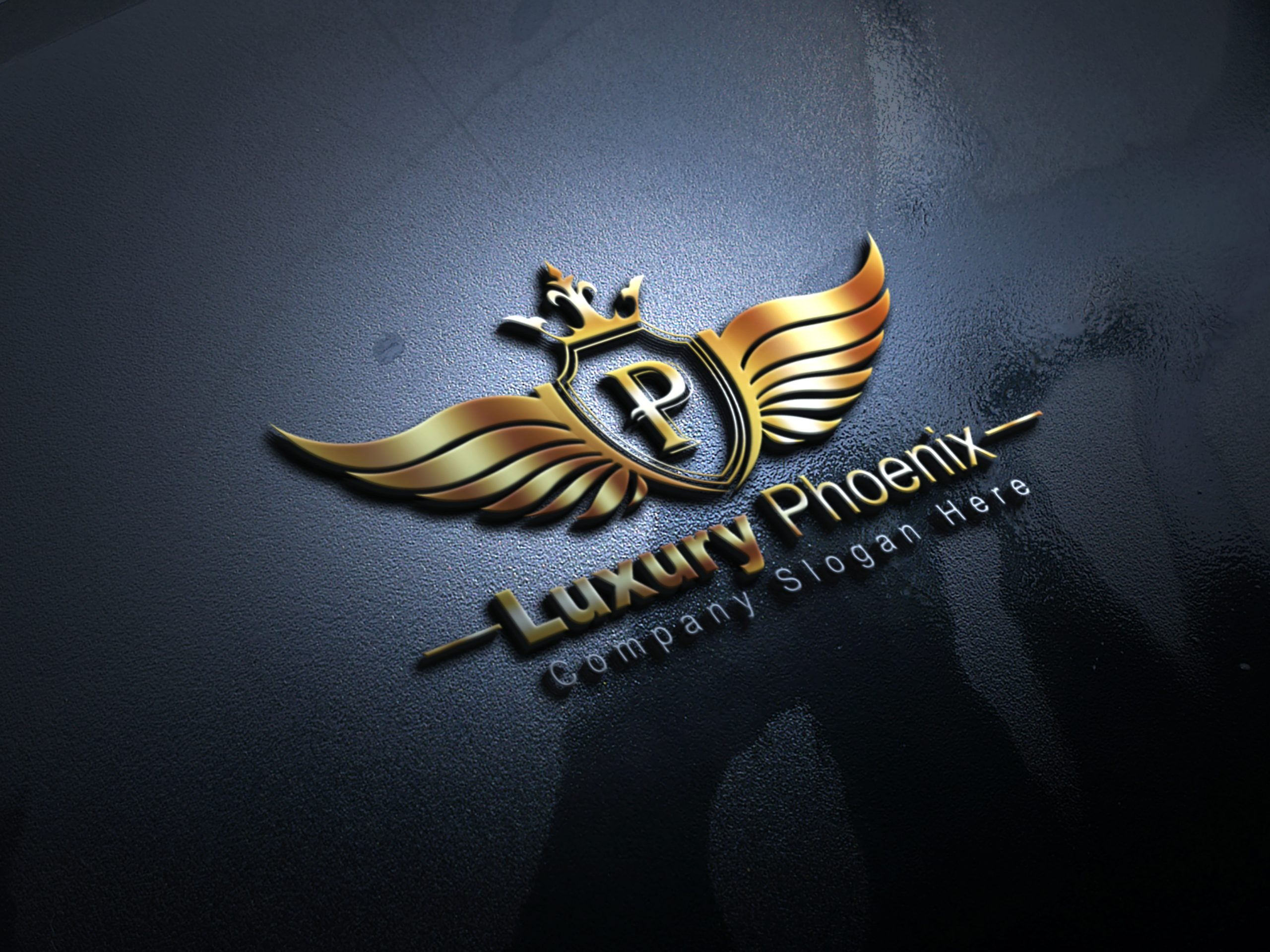 Free Luxury Phoenix Logo Design