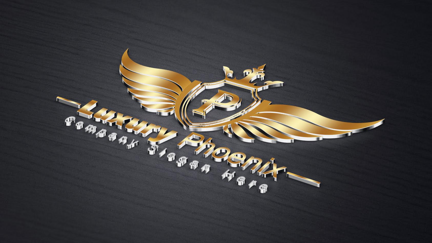 Free Luxury Phoenix Logo Template