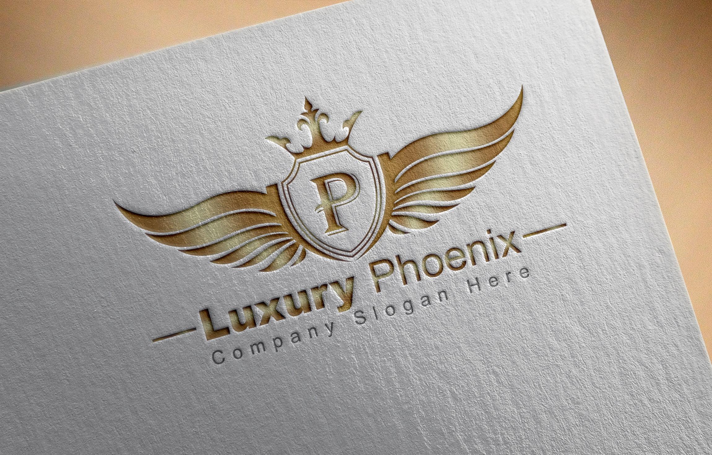 Free Luxury Phoenix Logo