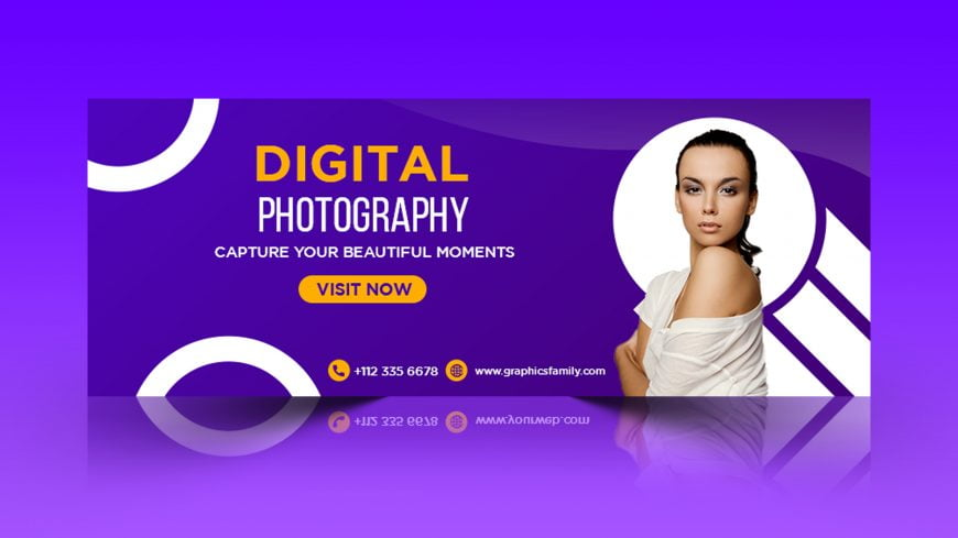 Free Photography Facebook Timeline Cover Template