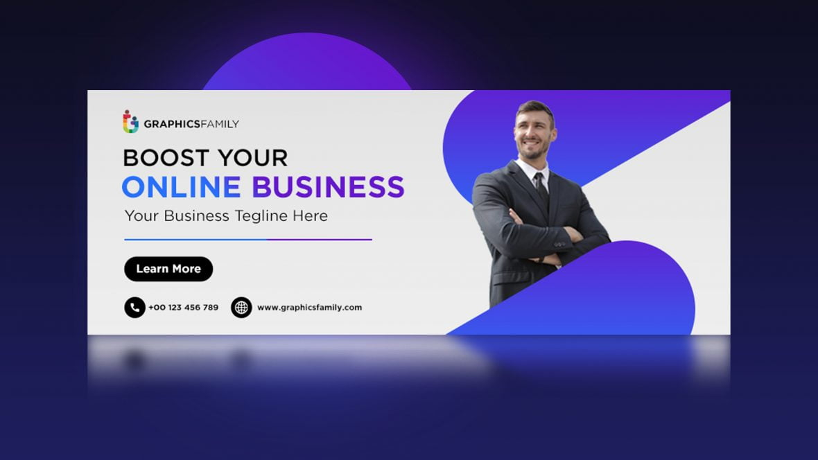 Free Professional Business Facebook Cover Template