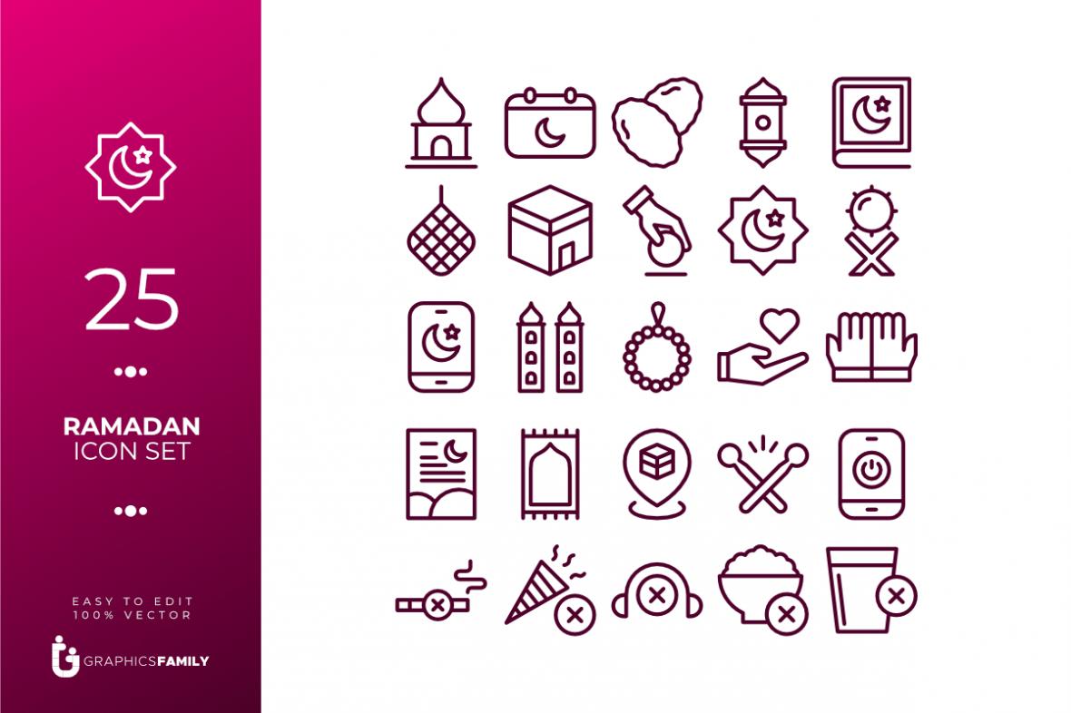 Free Ramadan Icons