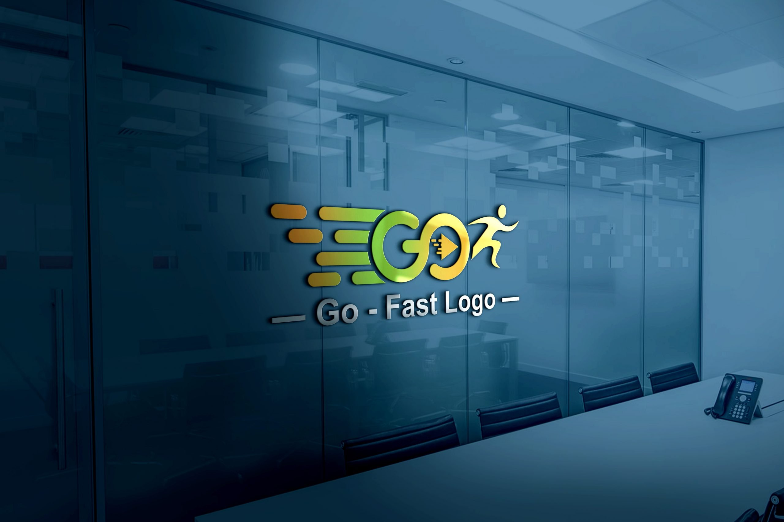 Go Logo Design Template Download