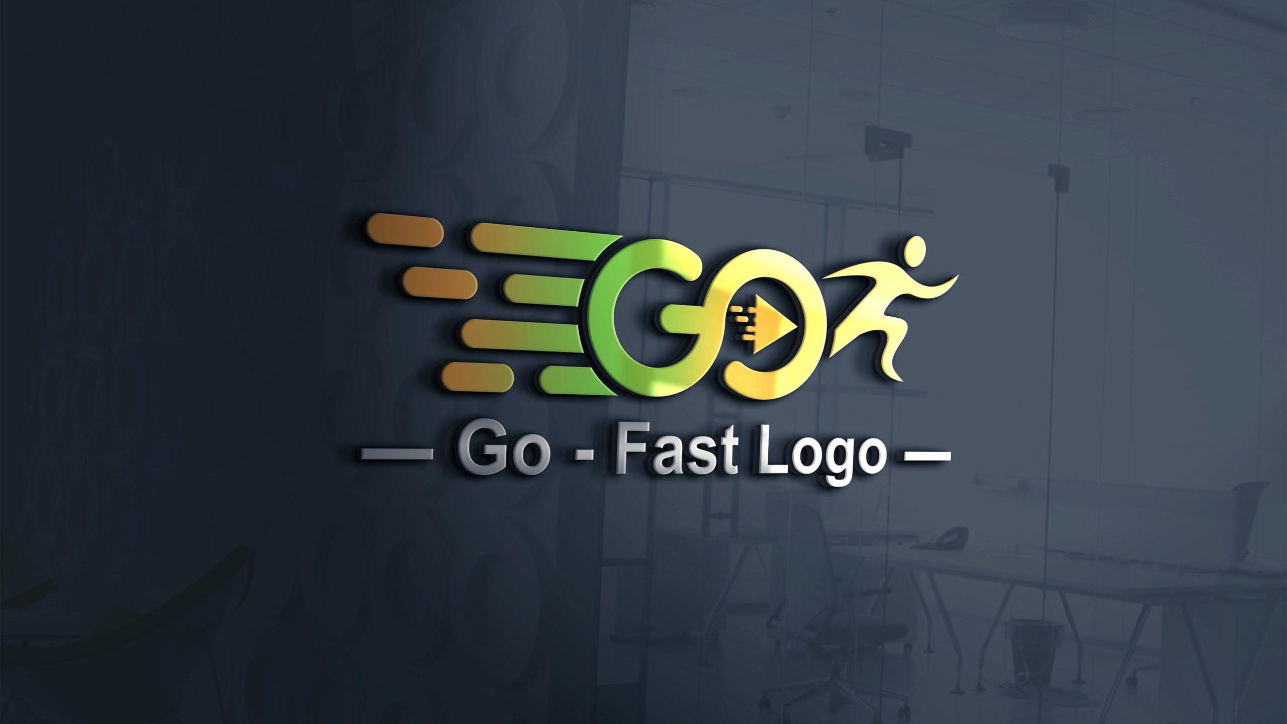 Go Logo Design Template