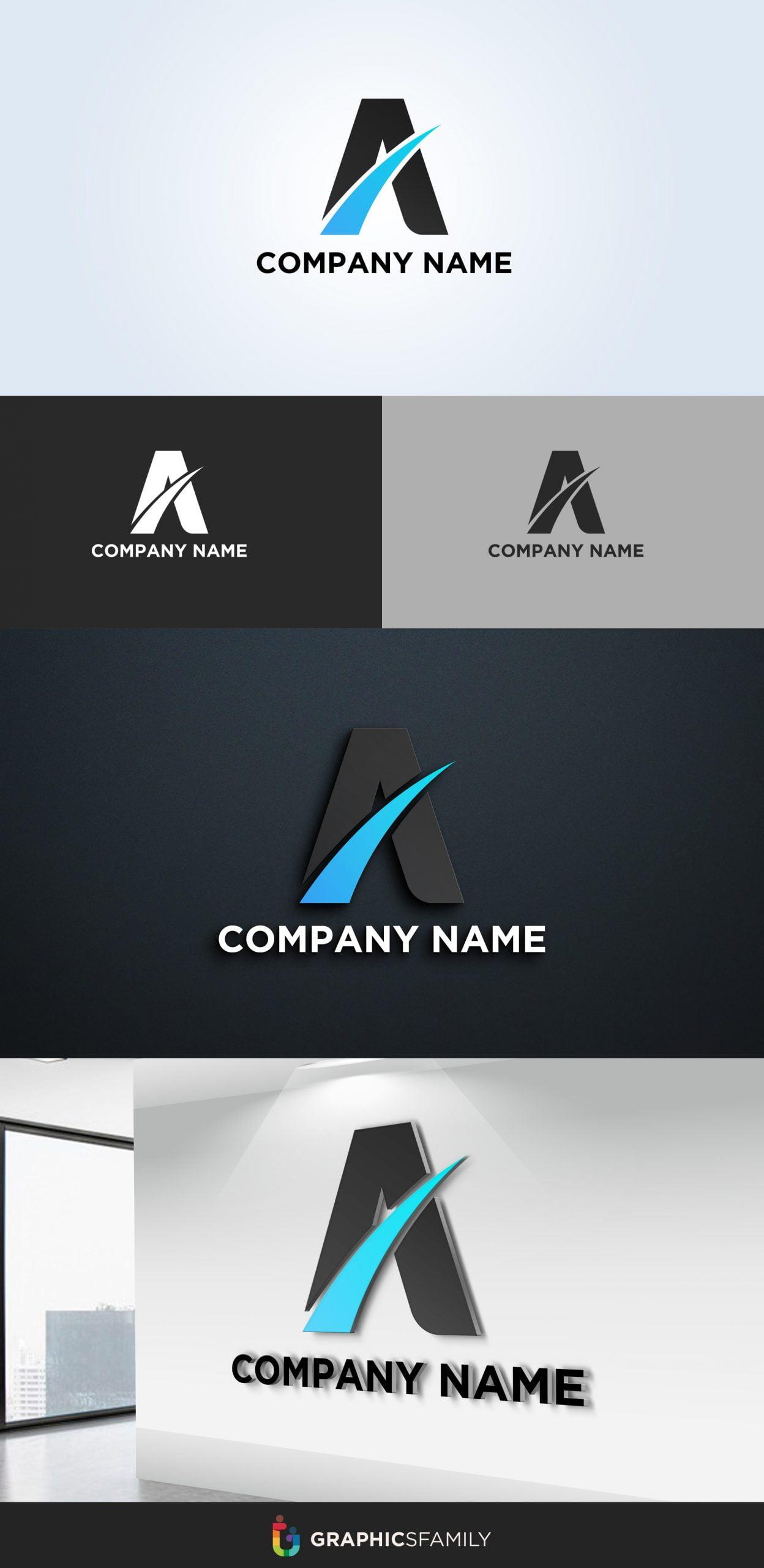 Letter A Logo Design Download