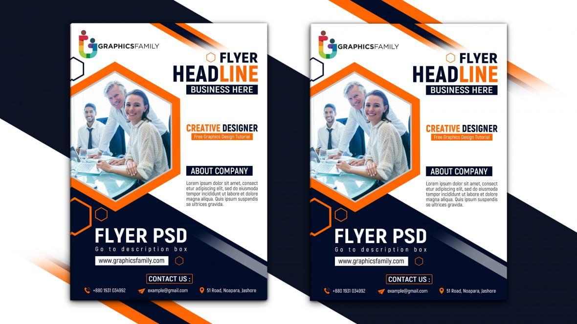 Modern Company Flyer Template