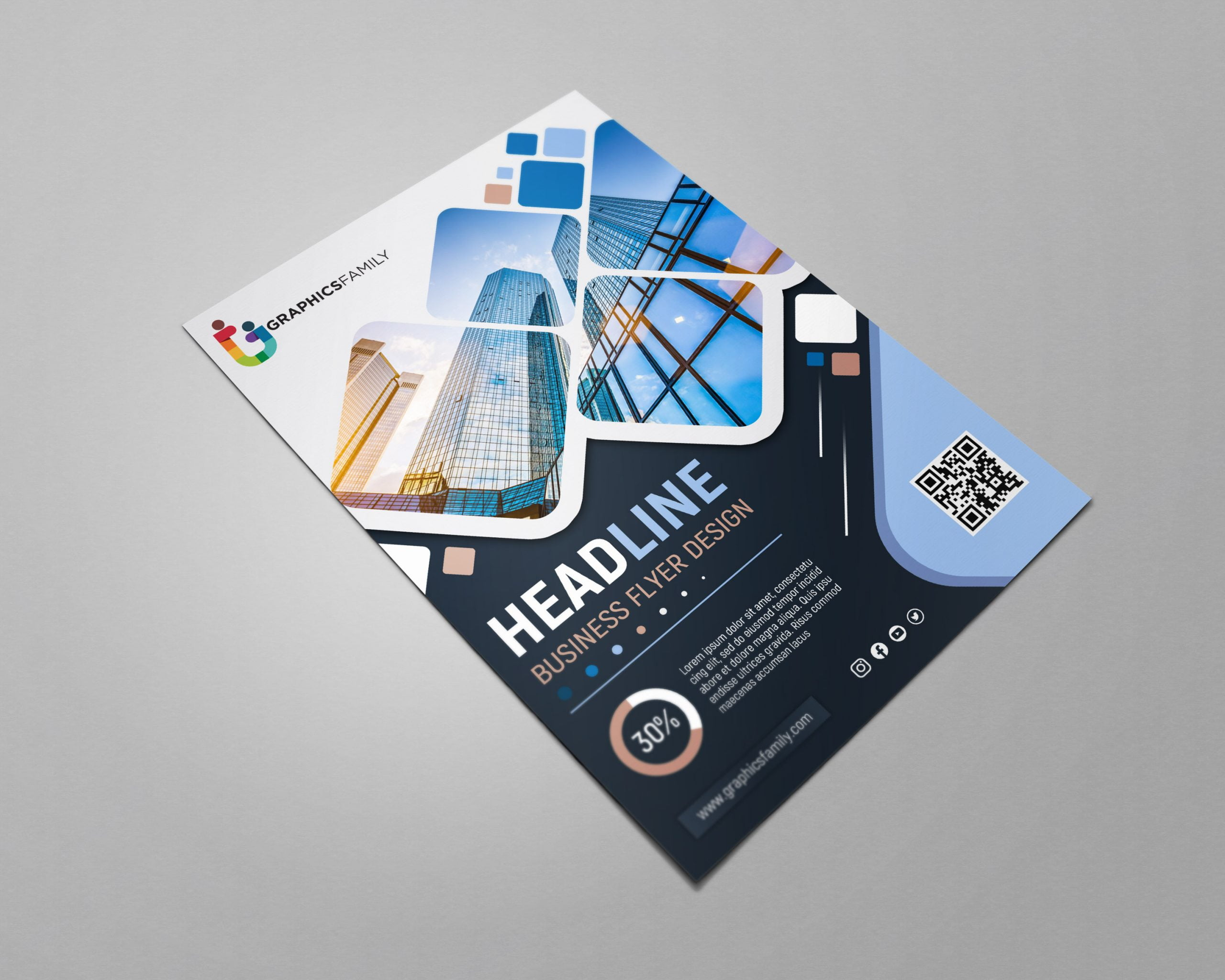 Official Business Flyer Design Free PSD Download