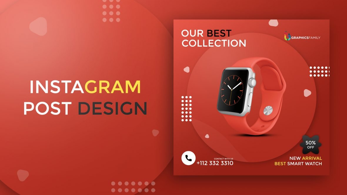 Product Sale Instagram Editable Post Design Template