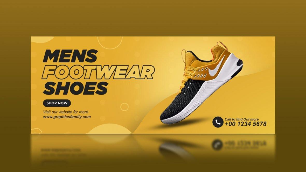 Professional E-Commerce Shoes Banner Design