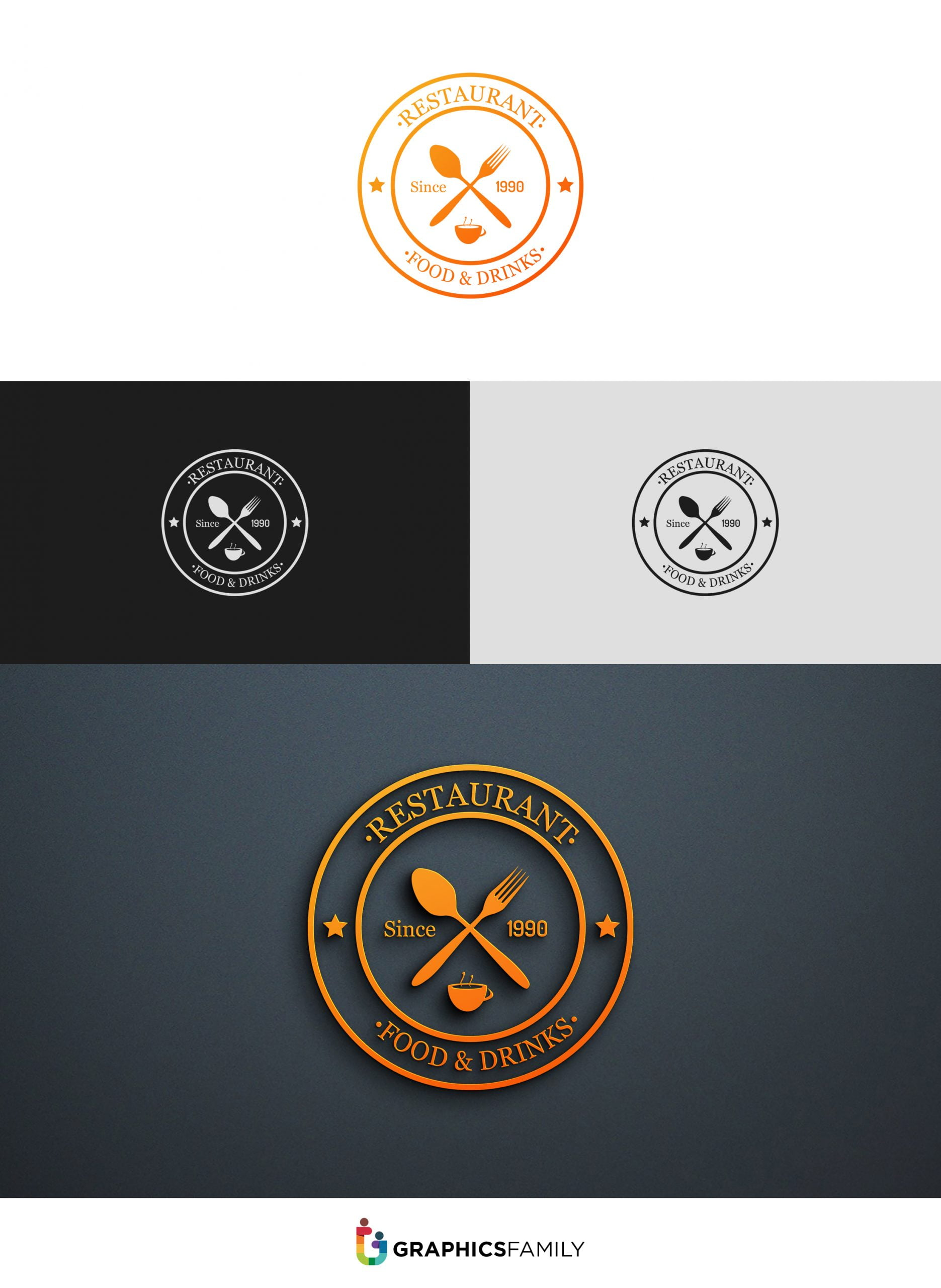 Professional Restaurant Logo Tutorial