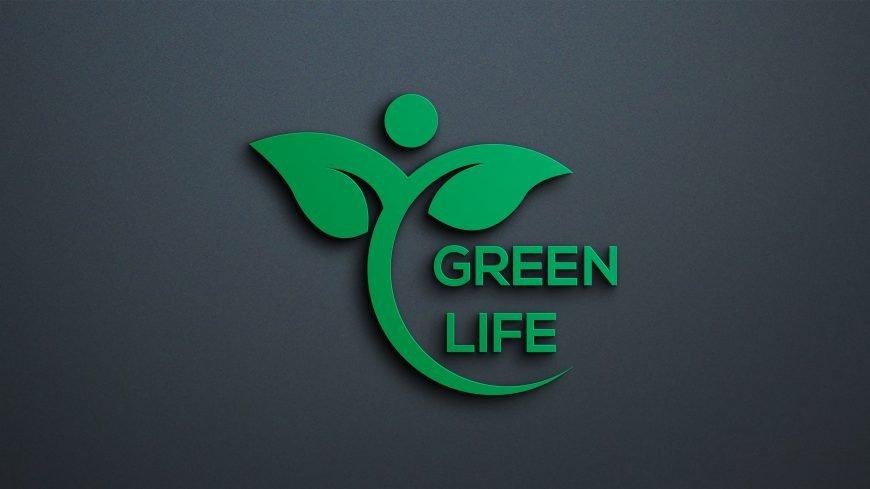 Green Life Logo Design