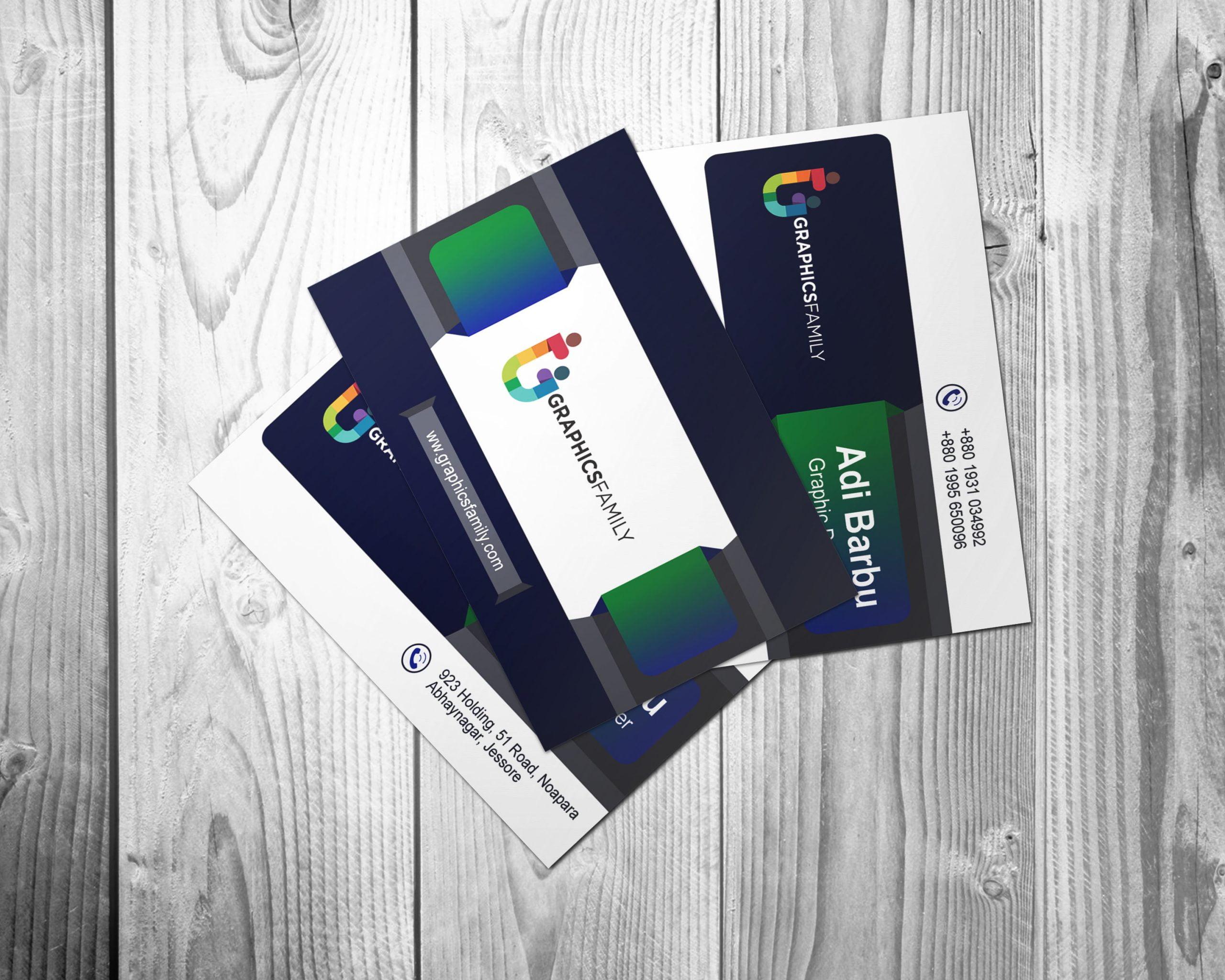 Traders visiting card design free psd