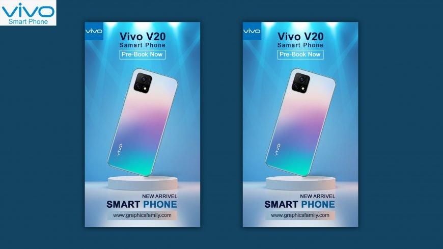 Vivo V20 Instagram Story Ad Design
