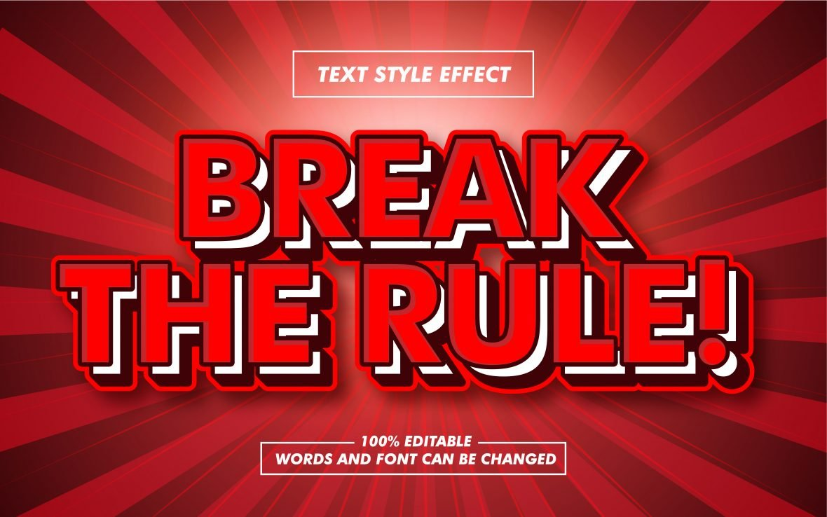 Blushing Red Text Effect