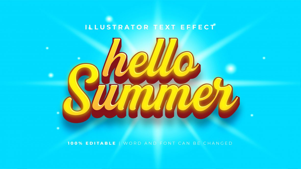 Bold-Glowing-Yellow-Text-Effect