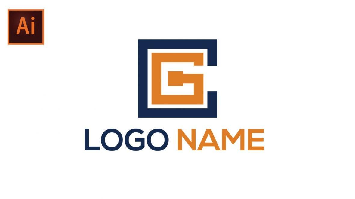 CG Company Logo Design Template