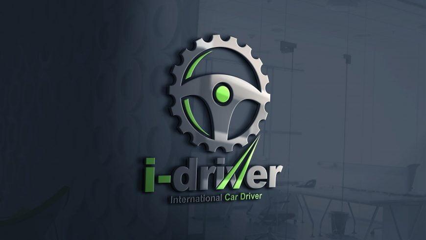 Car Driver Logo Design