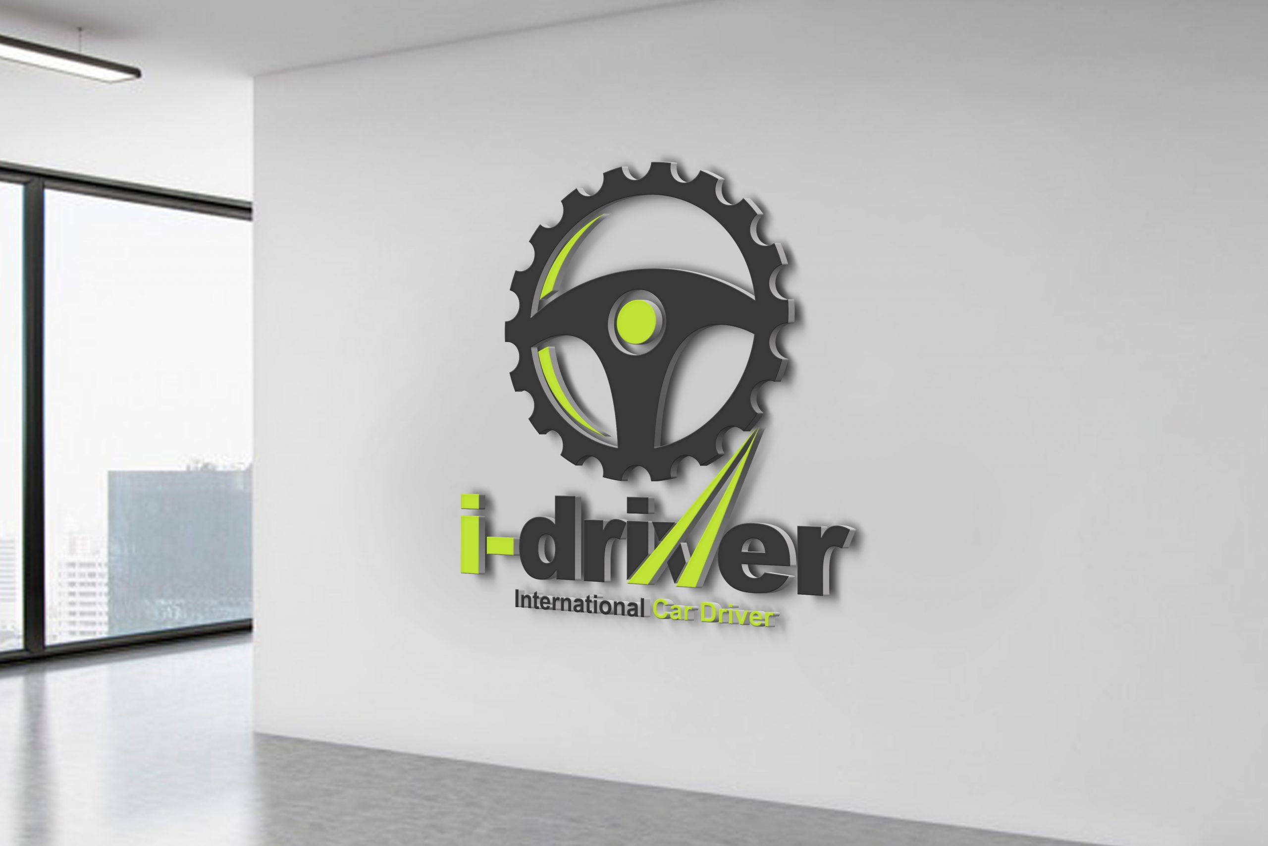 Car Driver Logo Design Template