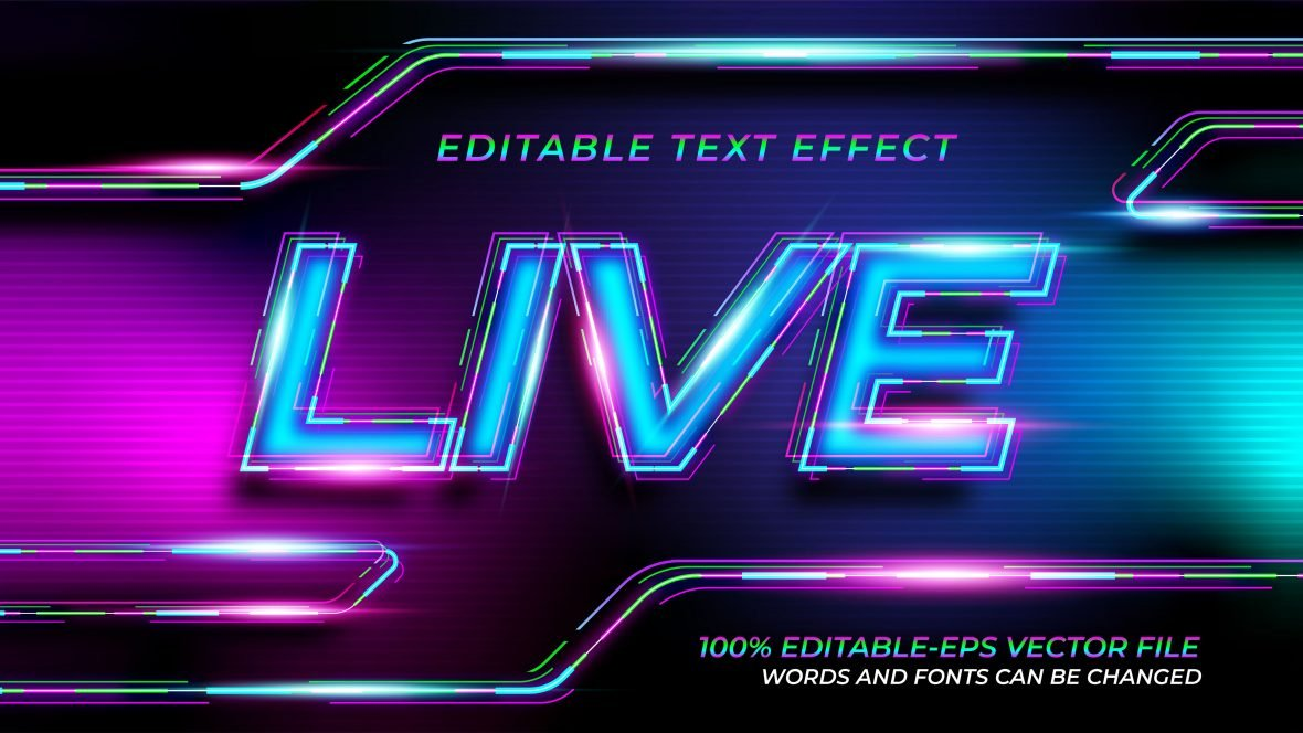 Colorful-Modern-Text-Effect