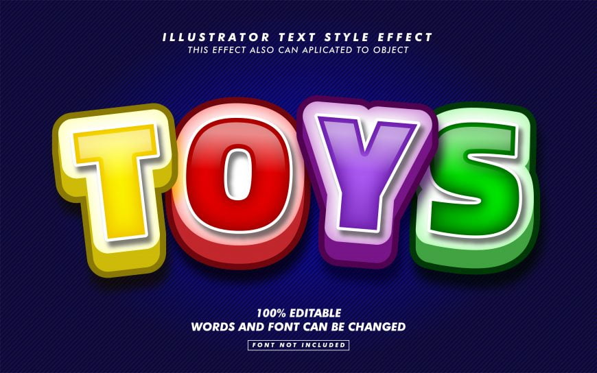 Colorful Text Effect