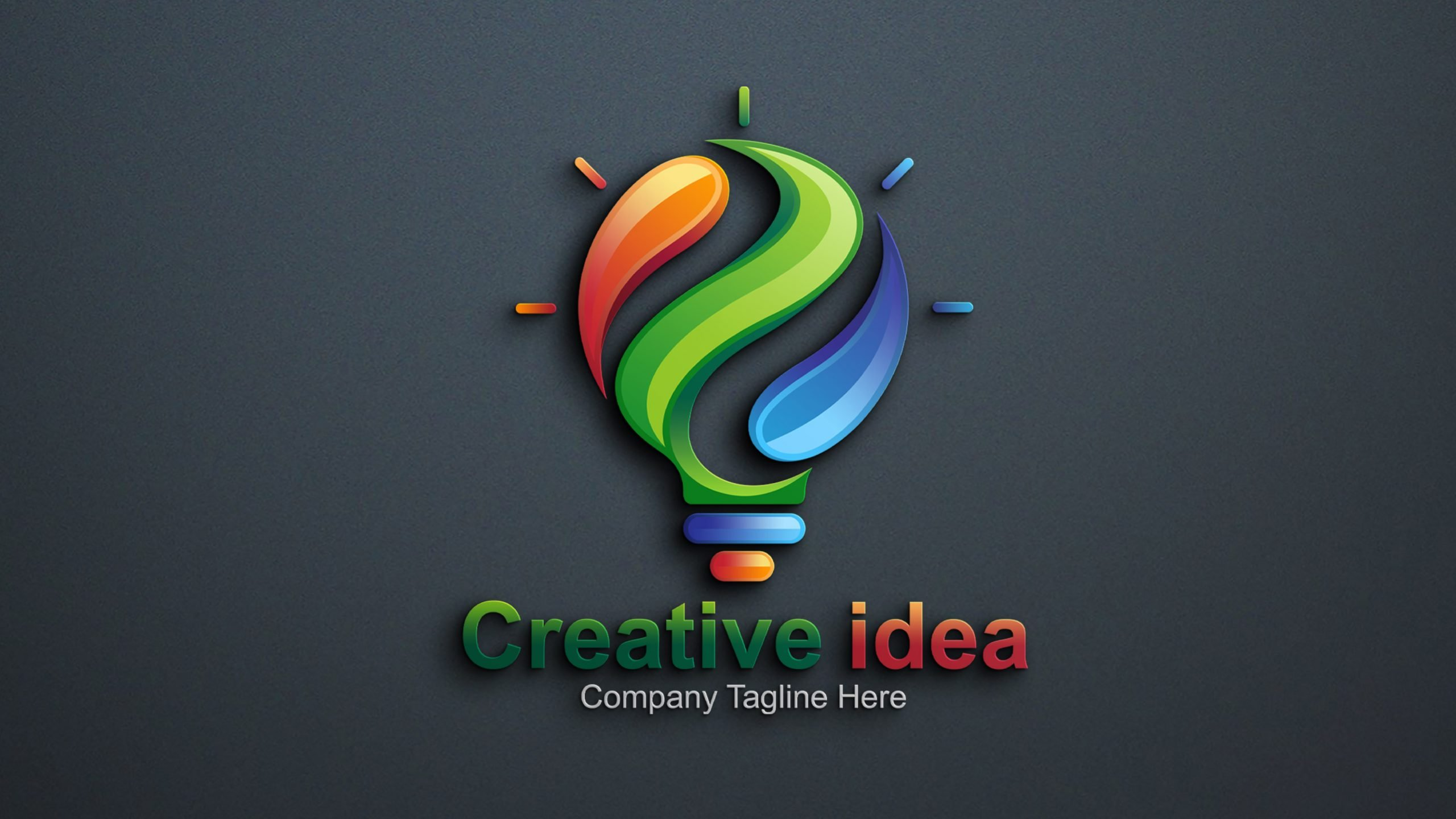 Creative Idea Logo Design .PSD source