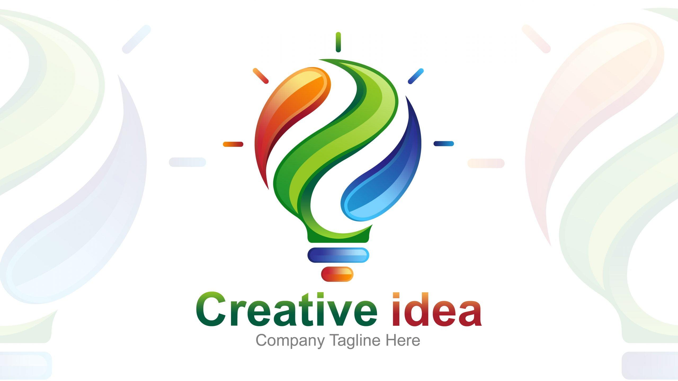 Creative Idea Logo Design Template Download